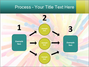 Flexible straws PowerPoint Template - Slide 92