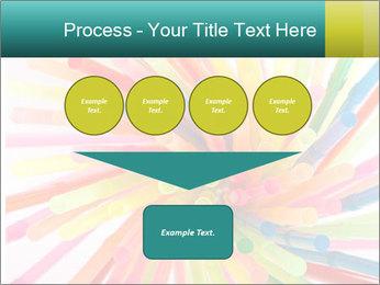Flexible straws PowerPoint Template - Slide 93