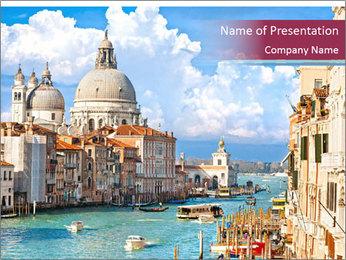 Venice PowerPoint Template - Slide 1