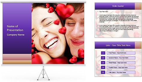 Valentine's Day PowerPoint Template