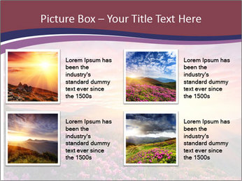 Spring landscape in mountains PowerPoint Templates - Slide 14