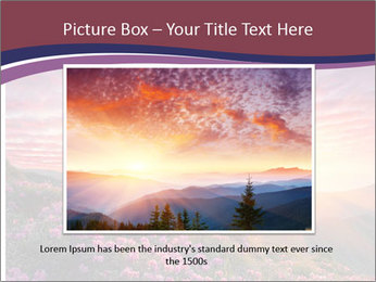Spring landscape in mountains PowerPoint Templates - Slide 15