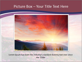 Spring landscape in mountains PowerPoint Templates - Slide 16