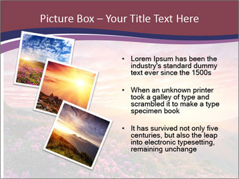 Spring landscape in mountains PowerPoint Templates - Slide 17