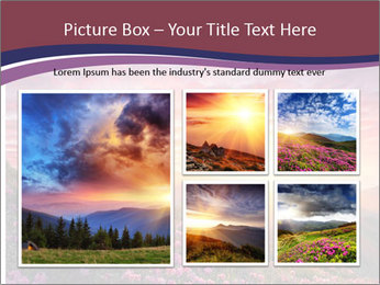 Spring landscape in mountains PowerPoint Templates - Slide 19