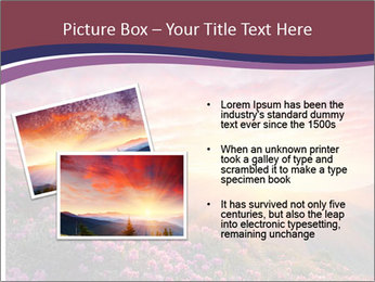 Spring landscape in mountains PowerPoint Templates - Slide 20