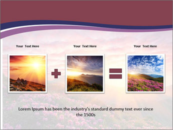 Spring landscape in mountains PowerPoint Templates - Slide 22