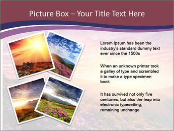 Spring landscape in mountains PowerPoint Templates - Slide 23