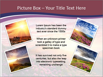 Spring landscape in mountains PowerPoint Templates - Slide 24