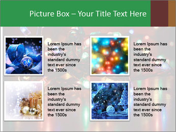 Colored lights PowerPoint Template - Slide 14