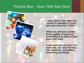 Colored lights PowerPoint Template - Slide 17