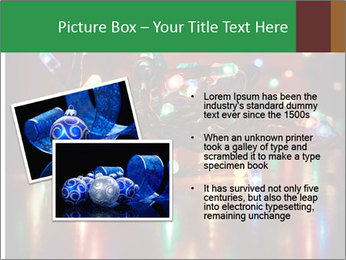 Colored lights PowerPoint Template - Slide 20