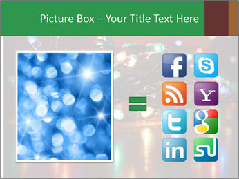 Colored lights PowerPoint Template - Slide 21