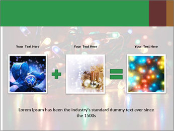 Colored lights PowerPoint Template - Slide 22