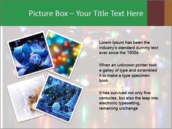Colored lights PowerPoint Template - Slide 23