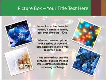 Colored lights PowerPoint Template - Slide 24