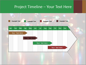 Colored lights PowerPoint Template - Slide 25