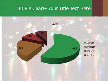 Colored lights PowerPoint Template - Slide 35