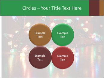 Colored lights PowerPoint Template - Slide 38