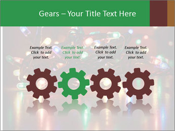 Colored lights PowerPoint Template - Slide 48