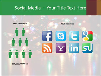 Colored lights PowerPoint Template - Slide 5