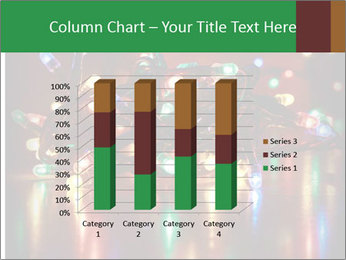 Colored lights PowerPoint Template - Slide 50