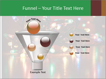 Colored lights PowerPoint Template - Slide 63