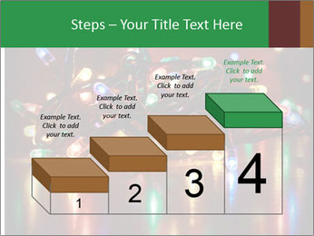 Colored lights PowerPoint Template - Slide 64