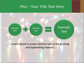 Colored lights PowerPoint Template - Slide 75