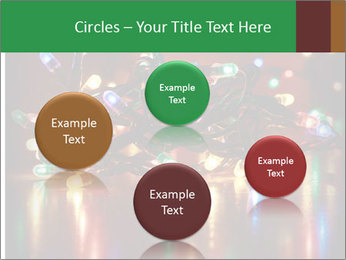 Colored lights PowerPoint Template - Slide 77