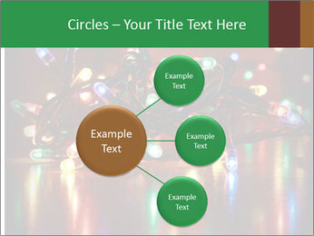 Colored lights PowerPoint Template - Slide 79