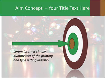 Colored lights PowerPoint Template - Slide 83