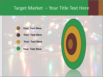 Colored lights PowerPoint Template - Slide 84