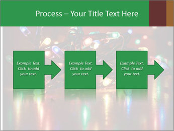 Colored lights PowerPoint Template - Slide 88