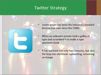 Colored lights PowerPoint Template - Slide 9
