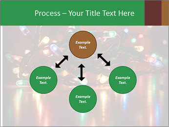 Colored lights PowerPoint Template - Slide 91