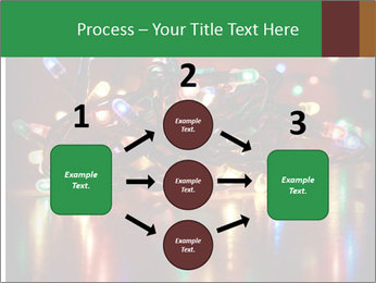 Colored lights PowerPoint Template - Slide 92