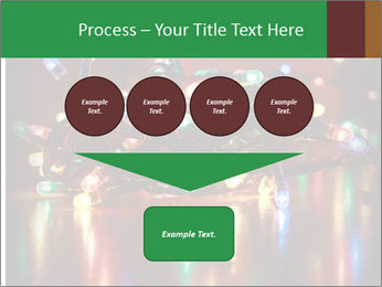 Colored lights PowerPoint Template - Slide 93