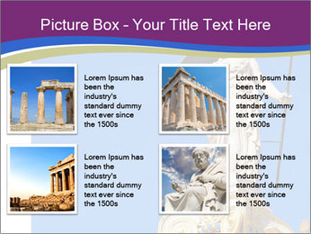 Athena statue PowerPoint Template - Slide 14