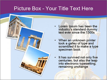 Athena statue PowerPoint Template - Slide 17