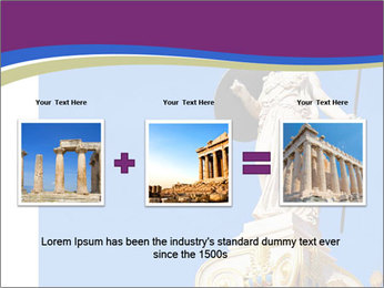 Athena statue PowerPoint Template - Slide 22