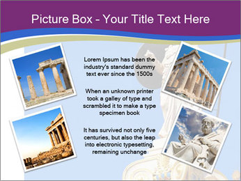 Athena statue PowerPoint Template - Slide 24
