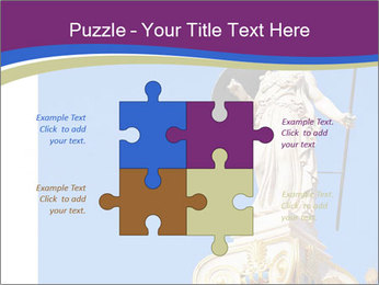 Athena statue PowerPoint Template - Slide 43