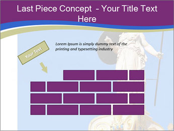 Athena statue PowerPoint Template - Slide 46