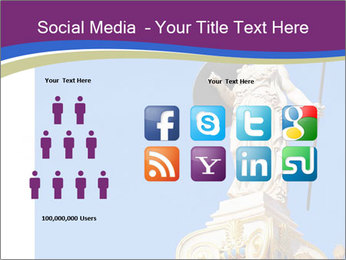Athena statue PowerPoint Template - Slide 5