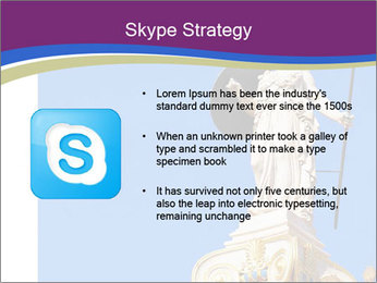 Athena statue PowerPoint Template - Slide 8