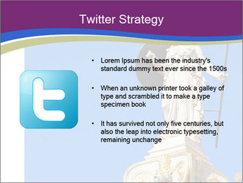 Athena statue PowerPoint Template - Slide 9