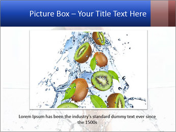An angry fist punching water PowerPoint Template - Slide 15