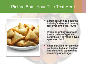 Traditional vegetarian indian PowerPoint Template - Slide 13
