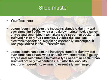 Traditional vegetarian indian PowerPoint Template - Slide 2